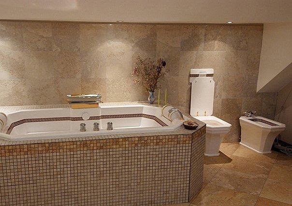 Carrelage sol salle de bain brillant orleans champigny for Carrelage ornais