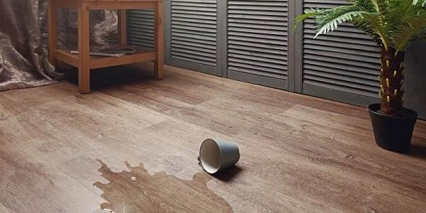 Кварц-виниловое покрытие в ванной